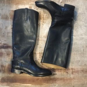 Frye Lindsay Plate Leather Boot
